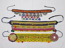 3X Kuchi Belts Afghan Tribal Belts Handmade Vintage Belts Ladies Belts 3HLT-06