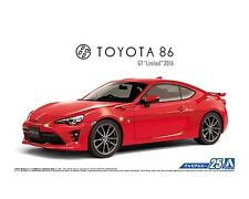 Aoshima 1/24 Toyota 86 GT Limited 2016 SCALE PLASTIC MODEL KIT 5180