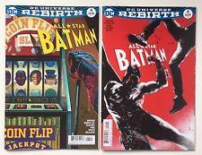 All Star Batman #4 Cover A & #5 Variant Cover - DC Rebirth - NM - 1st Printing