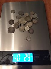 Assorted 2.9 OZ world foreign silver coins, Content Of Silver Varies