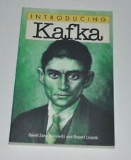 Introducing Kafka David Zane Mairowitz, Robert Crumb 1994 Kitchen Sink