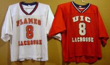 UNIVERSITY OF ILLINOIS CHICAGO CIRCLE FLAMES LACROSSE JERSEYS
