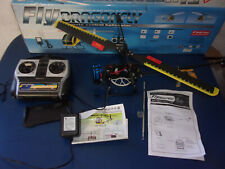 Dragonfly Double Horse R/C Helicopter 49.860 RC For Parts box charger radio Batt