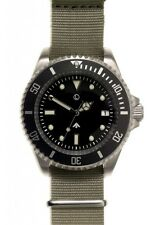 MWC 24 Jewels 300m Automatic Acier Inox Submariner NATO Noir Green Montre Homme