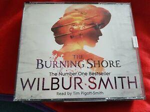 Wilbur Smith CD Audio Book Of The Burning Shore