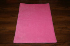 New Candy Pink Fleece Dog Cat Pet Carrier Crate Blanket Bed Pad Free Shipp! Bcr