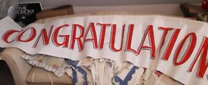 THE PRODUCERS CONGRATULATIONS! It's a Hit! Living Room Banner Movie Prop