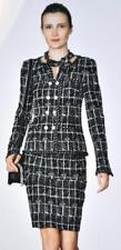 Most Wanted Chanel 14P Classic Jacket NEW 42 Blazer Coat RARE Black
