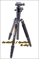 MeFoto RoadTrip C1350Q1 Kohlefaser Kamera Stativ Einbeinstativ Combo Schwarz