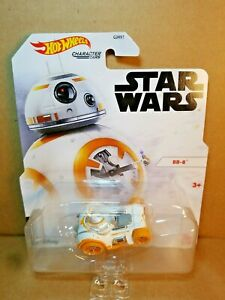 Hot Wheels Character Cars Star Wars BB-8 Car. NM to Mint Package. New, 2020