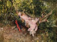Giovanni Boldini The Hammock Fine Art Giclee Print on Canvas Reproduction Small