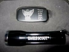 Boy Scout Eagle Money Clip Knife File Flashlight Collectors Set Fathers Day Gift