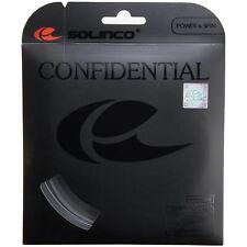 Solinco Confidential 16 16L 17 18 tennis string set