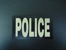 """POLICE TAN ON MB IR SOLASX 2ND PATCH 3.5""""X2"""" WITH VELCRO® BRAND FASTENER"""