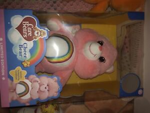 Care Bears CHEER BEAR Limited Edition Large 35cm with Certificate Authenticity