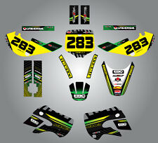 Kawasaki KX 65 - 2000 / 2013 Full  Custom Graphic  Kit -FACTORY STYLE