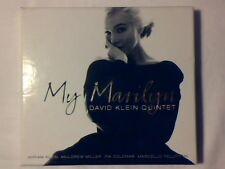 DAVID KLEIN QUINTET My Marilyn cd GERMANY on ENJA MONROE MULGREW MILLER