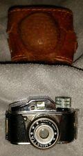Vintage Minetta Mini Spy Camera w/ Case, Japan