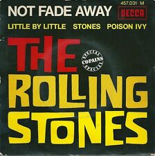 The Rolling Stones - Not fade away (EP) 1966-07 - blue BIEM label FRANCE