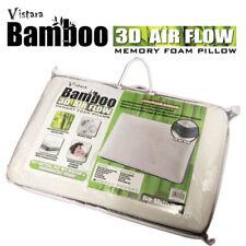 60x40cm Super Soft Bamboo Fibre Cover 3D Air Flow Whole Memory Foam Pillow