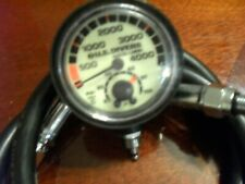 Usd / Aqualung standard 2-3/8 4,000 Psig in Excellent Condition with temperature