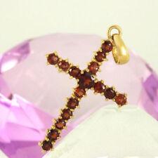 Halsketten und Anhänger mit gemischten Themen Kreuz-Sets-Edelsteinen