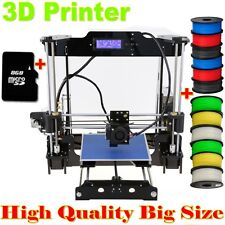 DIY Self-Assembly Auto Leveling 3D Printer High Precision Acrylic Frame Prusa i3