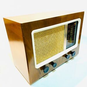 PYE Type 15A Large Table Radio, c1946 Vintage, Valve, Lovely, Clean & Working