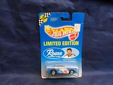 Hot Wheels Roses Discount Stores Blue Stock Car w/Blackwall Wheels Tommy Houston