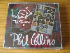 CD Treble: Phil Collins : The Singles : 3 CDs Sealed Genisis