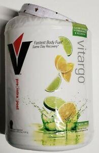 VITARGO Pre / Intra / Post Powder - Lemon Lime - 50 SERVS - READ AD - Exp 7/2022