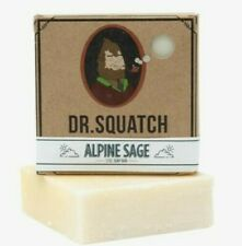 Dr. Squatch  New Name ALPINE SAGE  (Nautical Sage) best selling soap