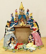 Disney Princess Castle Photo Frame Picture Belle Ariel Cinderella Snow White 3D