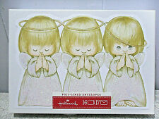 Hallmark Christmas Cards~Angels With Halos *Nib*