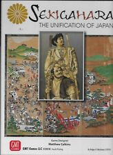 NEW & SEALED GMT Games - SEKIGAHARA The Unification of Japan 4th printing