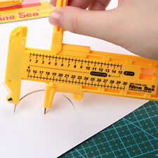 New Compass Circle Cutter Diameter Paper Leather Adjustable Craft 1-30cm Tools
