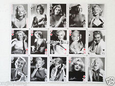 1 DECK PIN-UP GIRL ART COLLECTION SEXY LADY MARILYN MONROE POKER PLAYING CARDS
