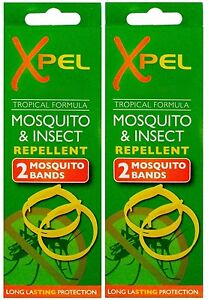 Xpel Tropical Formula Mosquito & Insect Repellent Bands for Adult and Kids