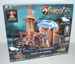 Thundercats TOWER OF OMENS Playset w Excusive Vehicle & TYGRA Figure 2011 Bandai