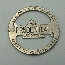 Vintage THE PRUDENTIAL LIFE Insurance Advertising FOB From Keychain //
