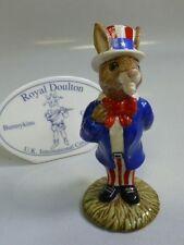 "Royal Doulton Bunnykins ""Uncle Sam"" Bunnykins Figurine Db-50"