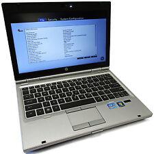 "HP EliteBook 2560p 12.5"" 2.7GHz Intel Core i7-2620M 4GB NO HDD/OS"