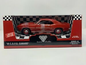 ERTL 1:18 1969 C.O.P.O. CAMARO DIE CAST CAR DIAMOND COLLECTIBLES 1 OF 2500