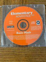 Elementary Advantage Math Computer Software