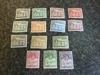 TURKS & CAICOS ISLANDS POSTAGE STAMPS SG194-205 LIGHTLY MOUNTED MINT