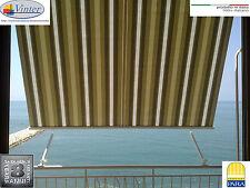 Tenda da balcone con cassonetto e braccetti in alluminio - TEMPOTEST - su misura