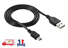 CORDON USB 2.0 Type A male vers Mini B male câble de chargeur de données