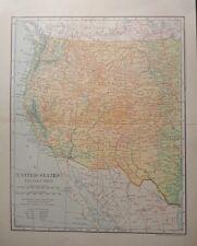 1906 Western Us Ca Az Nm Or Wa Id Co Ut Wy Nd Sd Nv Mn Tx Dodd, Mead & Company