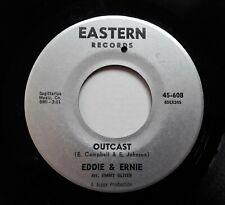 """Eddie & Ernie - Outcast / I'm Gonna Always..7"""" Single 1965 US Northern Soul"""