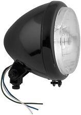 Bikers Choice 5-3/4in. Bottom Mount Headlight - Patterned Lens - 60/55W - H4 Bul